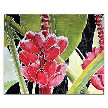 Artist Lane Blossom by Olena Kosenko Painting Print on Wrapped Canvas
