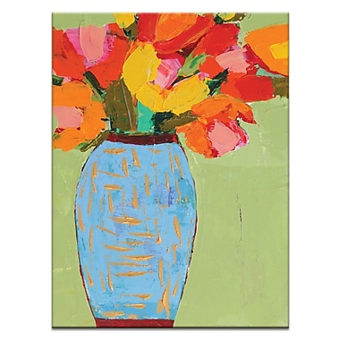 Artist Lane Jar by Anna Blatman Painting Print on Wrapped Canvas; 40'' H x 30'' W x 1.5'' D