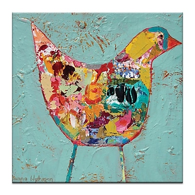 Artist Lane The Chase by Anna Blatman Painting Print on Wrapped Canvas; 24'' H x 24'' W x 1.5'' D
