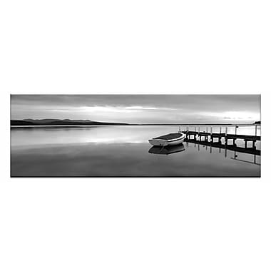 Artist Lane Tranquil Waters by Andrew Brown Photographic Print on Wrapped Canvas in White