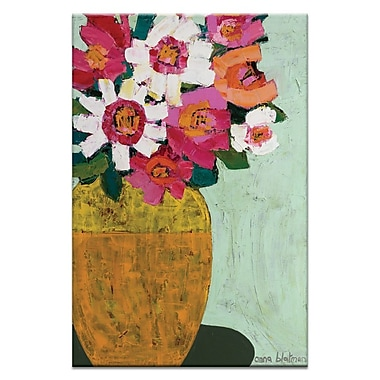 Artist Lane Pot by Anna Blatman Painting Print on Wrapped Canvas; 30'' H x 20'' W x 1.5'' D