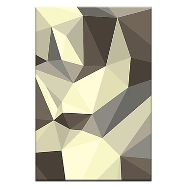 Artist Lane Shard Contempo by Ayarti Framed Graphic Art on Wrapped Canvas; 18'' H x 12'' W x 1.5'' D