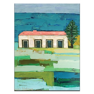 Artist Lane Beachside by Anna Blatman Painting Print on Wrapped Canvas; 40'' H x 30'' W x 1.5'' D