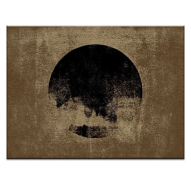 Artist Lane Sphere Sand by Ayarti Framed Graphic Art on Wrapped Canvas; 16'' H x 20'' W x 1.5'' D