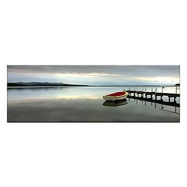 Artist Lane Tranquil Waters by Andrew Brown Photographic Print on Wrapped Canvas in Blue