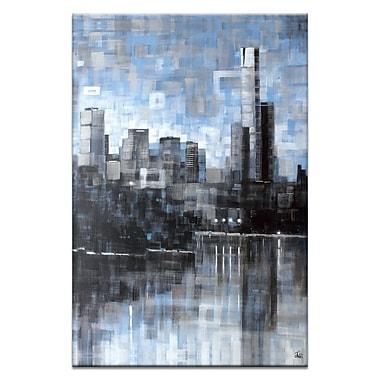 Artist Lane Lake View III by Jennifer Webb Framed Graphic Art on Wrapped Canvas