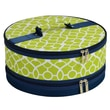 Picnic At Ascot Trellis Cake Carrier; Green