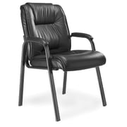 Mayline Series 100 High-Back Leather Guest Chair