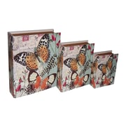 Cheungs Butterfly Book Box (Set of 3)