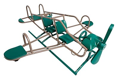 Lifetime Earthtone Ace Flyer Airplane Teeter-Totter