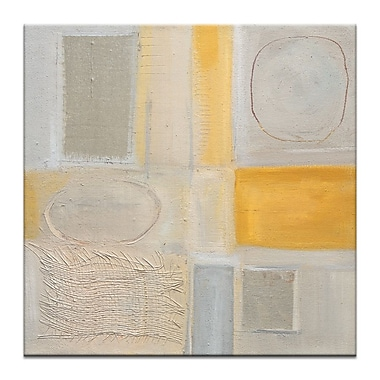 Artist Lane 50'S-3 by Karen Hopkins Painting Print on Wrapped Canvas; 16'' H x 16'' W x 1.5'' D