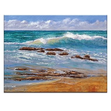 Artist Lane Tide's Out by Jennifer Webb Painting Print on Wrapped Canvas