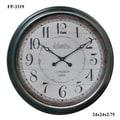Cheungs Oversized 24.25'' Wall Clock