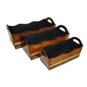 Cheungs 3 Piece Manufactured Wood Planter Box Set (Set of 3)