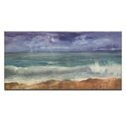 Artist Lane Squall by Jennifer Webb Painting Print on Wrapped Canvas; 20'' H x 40'' W x 1.5'' D