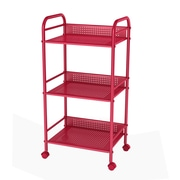 Dar Utility Cart w/ Casters; Red