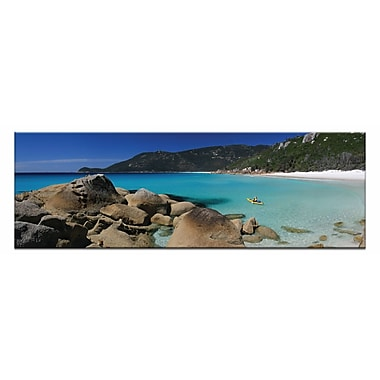 Artist Lane Perfect Paddle by Andrew Brown Framed Photographic Print on Wrapped Canvas