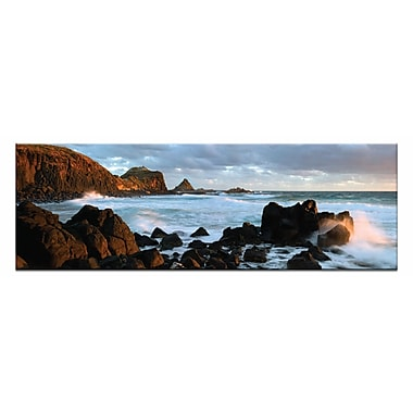 Artist Lane Pyramid Rocks by Andrew Brown Photographic Print on Canvas