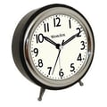 Westclox Classic Retro Alarm Clock with Bezel
