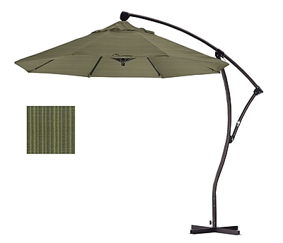 California Umbrella 9' Cantilever Umbrella; Terrace Fern WYF078276994087