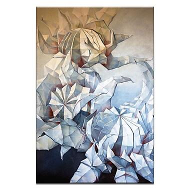 Artist Lane Waratah Dance by Olena Kosenko Painting Print on Wrapped Canvas