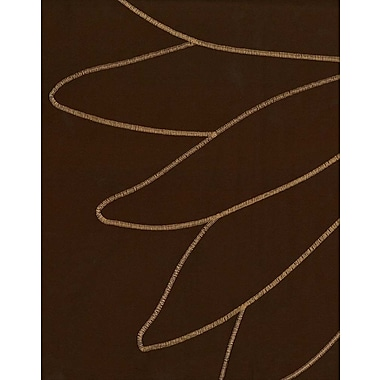 Loft Style Marseilles Single Curtain Panel; Chocolate