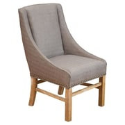 Home Loft Concept Norman Dining Side Chair; Taupe