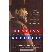 "CHRISTIAN LARGE PRINT ""Destiny of the Republic"" Paperback Book"
