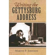"UNIV PR OF KANSAS ""Writing the Gettysburg Address"" Hardcover Book"