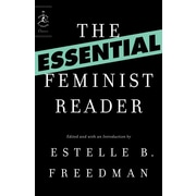 "Random House ""The Essential Feminist Reader"" Book"