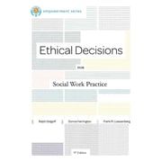 "CENGAGE LEARNING® ""Ethical Decisions for Social Work Practice"" Book"