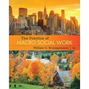 "CENGAGE LEARNING® ""The Practice of Macro Social Work"" Book"