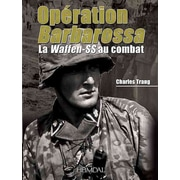 "CASEMATE PUB & BOOK DIST LLC ""Operation Barbarossa: La Waffen-ss Au Combat"" Hardcover Book"