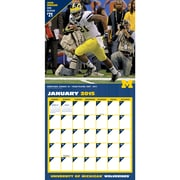 TURNER Michigan Wolverines, Wall Calendar