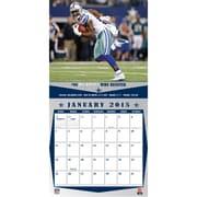 TURNER Dallas Cowboys 2015 Wall Calendar 12 X 12
