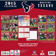 TURNER Houston Texans, Wall Calendar