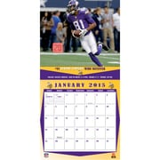 TURNER Minnesota Vikings 2015 Wall Calendar 12 X 12