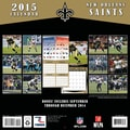 TURNER New Orleans Saints 2015 Wall Calendar 12in. X 12in.