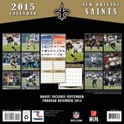 TURNER New Orleans Saints 2015 Wall Calendar 12 X 12
