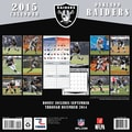 TURNER Oakland Raiders 2015 Wall Calendar 12in. X 12in.