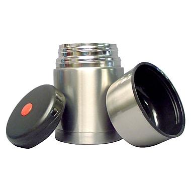 Geo – Bouteilles isothermes en acier inoxydable, 600 ml, argenté, paq./2