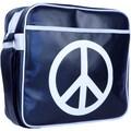 Urban Factory Peace & Love Vintage Bag For 12in. Notebook, Dark Blue