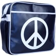"Urban Factory Peace & Love Vintage Bag For 12"" Notebook, Dark Blue"