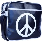 Urban Factory Peace & Love Vintage Bag For 16 Notebook, Dark Blue