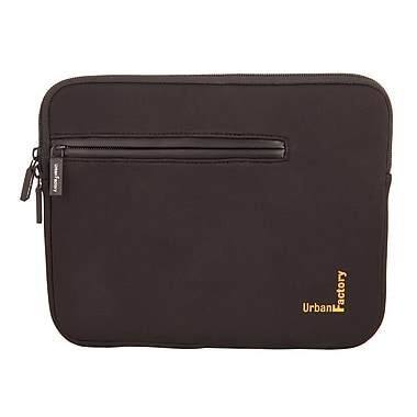 Urban Factory Urban Sleeve With Front Pocket And Memory Foam For 17.3