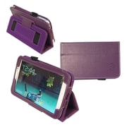 Kyasi™ Seattle Classic Folio Carrying Case For 7 Galaxy Tab 3, Deep Purple