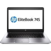 HP® Smart Buy EliteBook 745 G1 8GB RAM 500GB HDD 14 LED Notebook, A10 Pro-7350B Quad Core 2.1GHz