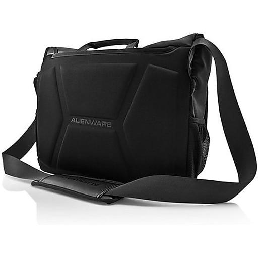 Mobile Edge Alienware Vindicator Messenger Bag For 14 /17  Laptop, Black.