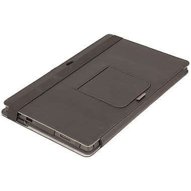 Urban Factory SUR01UF Leather Elegant Folio Keyboard Case for Microsoft Surface, Gray
