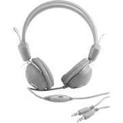 Urban Factory Crazy Headphone With Audio and Micro Jack Plugs For PC, Gray